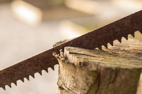 Stress prevention - Sharpen your saw